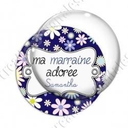 Image digitale - Ma marraine adorée - prénom personnalisable