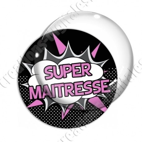 Image digitale - Comics - Super maitresse- Rose