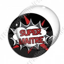 Image digitale - Comics - Super maitre- Rouge