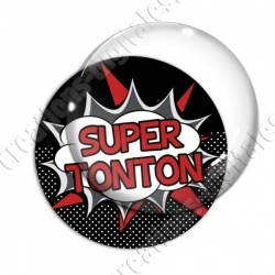 Image digitale - Comics - Super tonton- Rouge