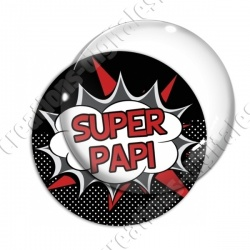 Image digitale - Comics - Super papi- Rouge