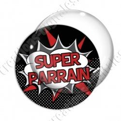 Image digitale - Comics - Super parrain- Rouge