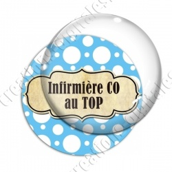 Image digitale - Infirmière CO au Top