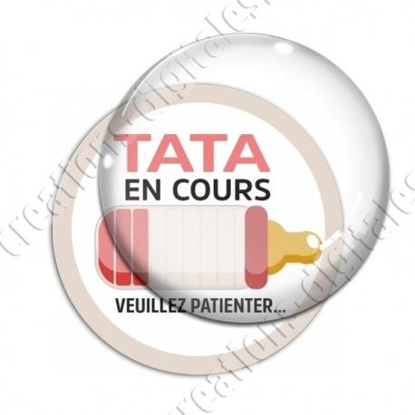 Image digitale - Tata en cours