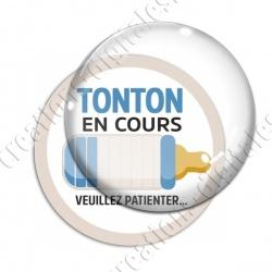Image digitale - Tonton en cours