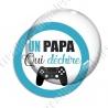 Image digitale - Un papa qui déchire - manette