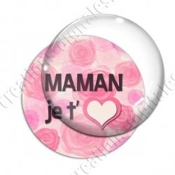 Image digitale - Maman je t'aime