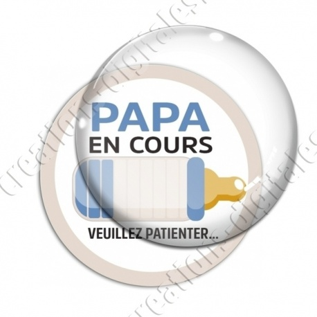 Image digitale - Papa en cours