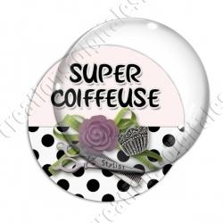Image digitale - Super coiffeuse fleur violet 02