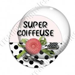Image digitale - Super coiffeuse fleur rouge 02