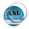 Image digitale - ASL - Fond ligne electro