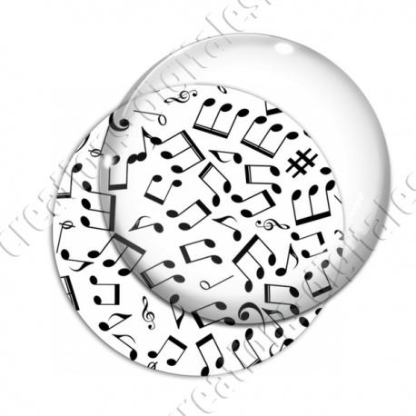 Image digitale - Notes de musique T1