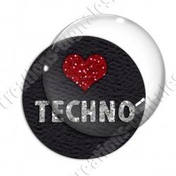 Image digitale - Love techno