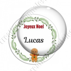 Image digitale - Joeux Noël - Biscuit