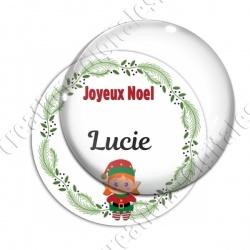 Image digitale - Joeux Noël - Lutin