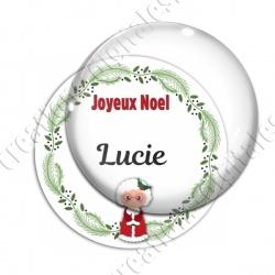 Image digitale - Joeux Noël - Mère Noël