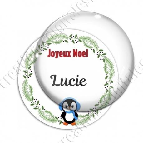 Image digitale - Joeux Noël - Pingouin