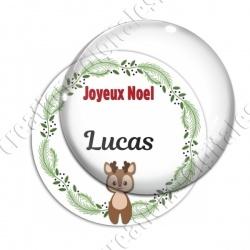Image digitale - Joeux Noël - Renne