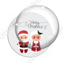 Image digitale - Merry christmas couple Noël