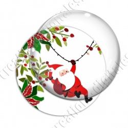 Image digitale - Père Noël arrive