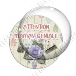 Image digitale - Attention maman géniale