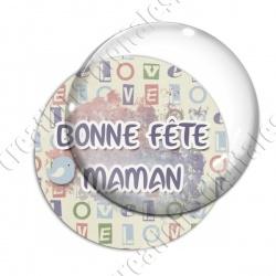 Image digitale - Bonne fête maman - oiseau