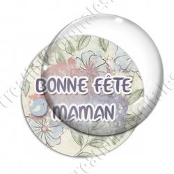 Image digitale - Bonne fête maman - oiseau 2