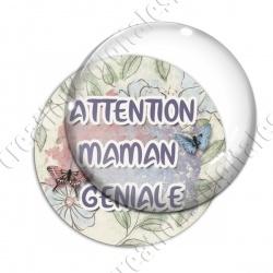 Image digitale - Attention maman géniale 2