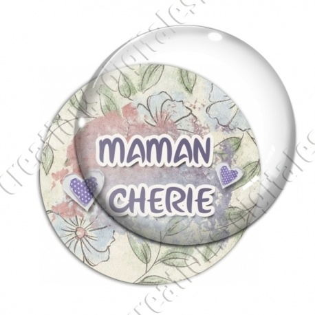 Image digitale - Maman chérie - coeurs
