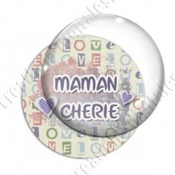 Image digitale - Maman chérie - coeurs2