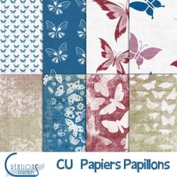 CU Papiers Papillons