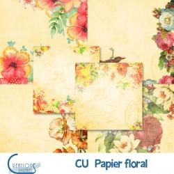 CU Papier Floral