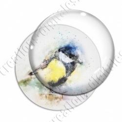 Image digitale - Oiseau effet aquarelle